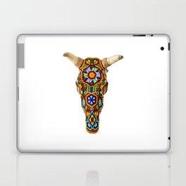 Huichol Bull Skull Laptop & iPad Skin
