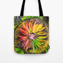 Alaskan Fireweed Color Wheel from Crow Creek Coolture Tote Bag