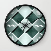 pyramid Wall Clocks featuring Pyramid by MJ Mor