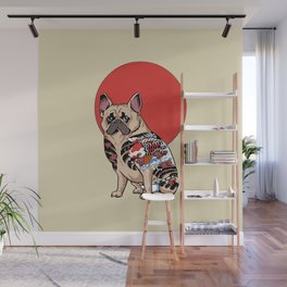 French Bulldog Yakuza Wall Mural