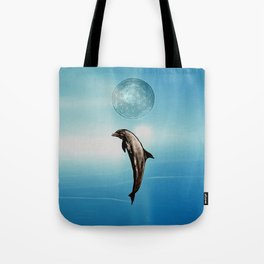 The DOLPHIN - ZEN version Tote Bag