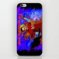 bazinga iPhone & iPod Skins featuring Bazinga Sheldon! by JT Digital Art