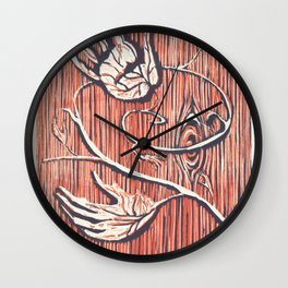 Living Hands Wall Clock