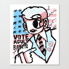VOTE 2016 Canvas Print