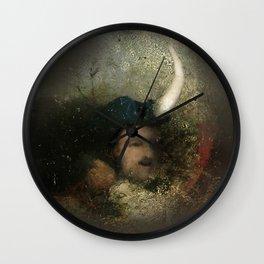 new moon revolution Wall Clock