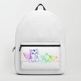 Cat Angels kittys gift Backpack