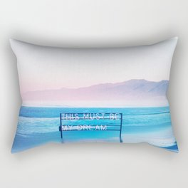 This Must Be My Dream Pastel Paradise Beach Vibe Rectangular Pillow