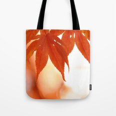 Maple Reds Tote Bag