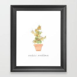 Mimbulus Mimbletonia Framed Art Print