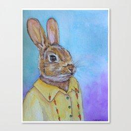 Hey Bunny Canvas Print