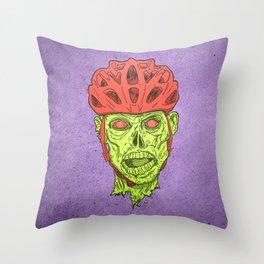Zombie Spukk! Throw Pillow