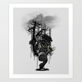 DIRTY WEATHER Art Print