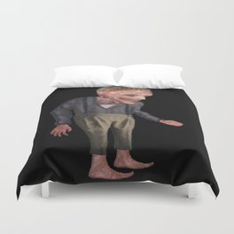 the man with candy Duvet Cover