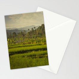 Balapusuh Village Rice Paddies Stationery Cards