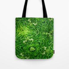 The Mystery Of The Grass Tote Bag