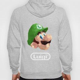 Luigi Poster Hoody