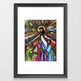 World Changer Framed Art Print