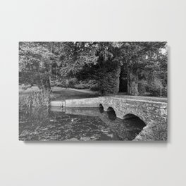 Newton Park Bridge. Metal Print