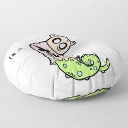 Slugger Floor Pillow