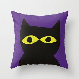 serge-pichii-cat--0170 Throw Pillow