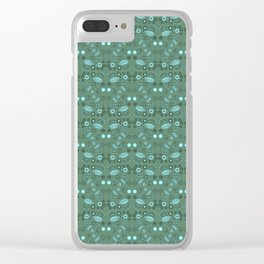 Fairy Foliage Clear iPhone Case