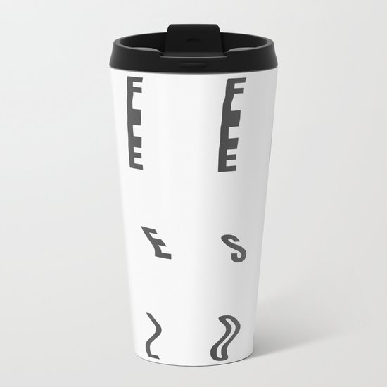 Deepness Flow Metal Travel Mug
