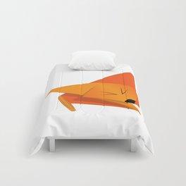 Origami Orange Little Fox Comforters