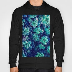 Plants of Blue And Green Hoody