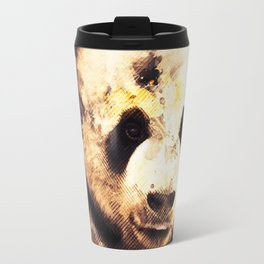 Panda Painting, Panda Mixed Media, Panda Bear, Panda Animal, Pandas Art, Panda Print, Best Panda Travel Mug