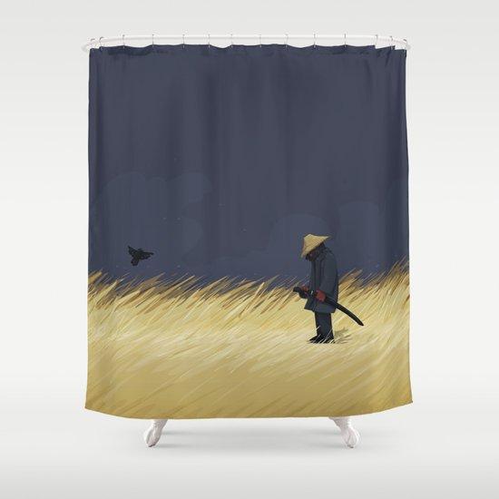 False Alarm Shower Curtain