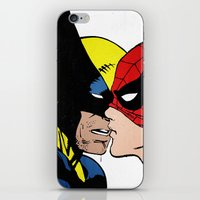 heroes iPhone & iPod Skins featuring Heroes by Alex Cherry