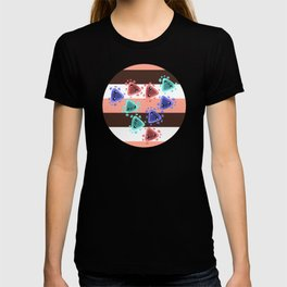 Ameba Blobs - Colorful Putty T-shirt