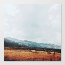 Distant Canvas Print