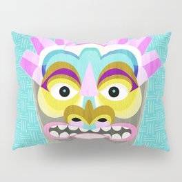 Hawaiian Tiki Aloha Pillow Sham