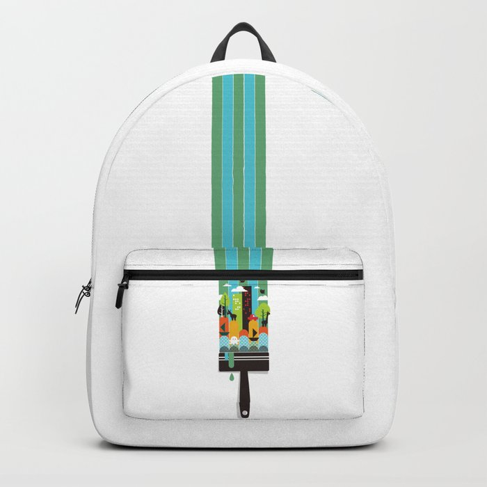 Paint your world Backpack