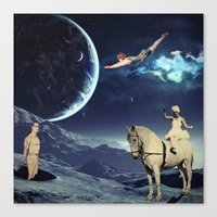 circus Canvas Prints featuring Circus by Cs025
