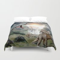 dinosaur Duvet Covers featuring Dinosaur by giftstore2u