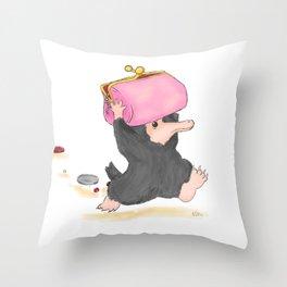 Niffler Throw Pillow