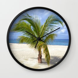 Palm - Cozumel Wall Clock