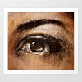 Eyes Are Windows to the Soul Art Print