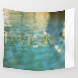 Dive In Wall Tapestry