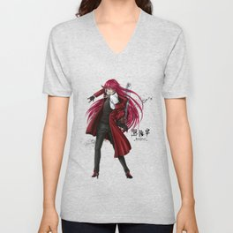 Grell : Red Death Unisex V-Neck