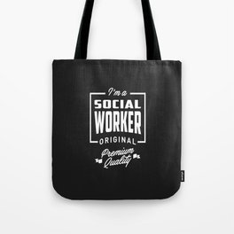 Gift for Social Worker Tote Bag