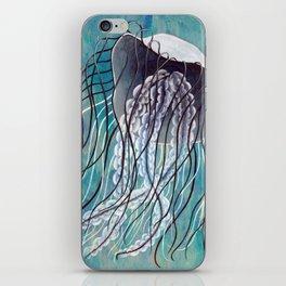 Blue Jelly iPhone Skin