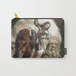 Saint Georgine and the Dragon Carry-All Pouch