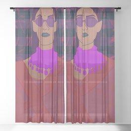 sabya style part 2 Sheer Curtain