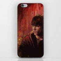 sam smith iPhone & iPod Skins featuring Sam by Amanda Shae