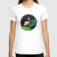 lily T-shirts featuring Lily by Linda Wanders