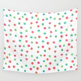 Happy Dots Wall Tapestry