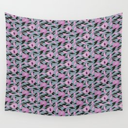 Dusky Pink Peach Print Wall Tapestry